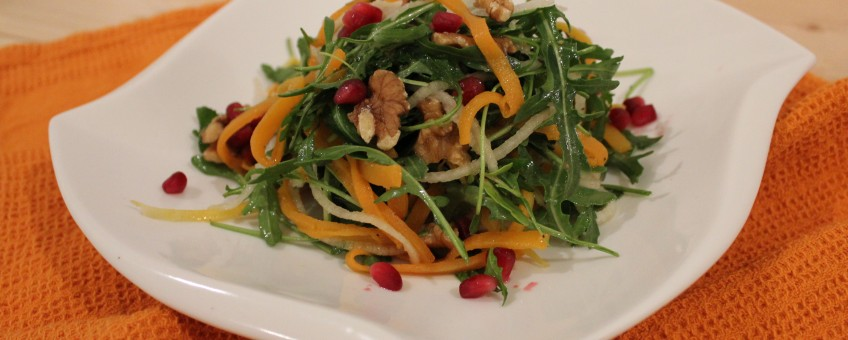 Roasted Butternut Maple Roasted Squash Salad featuring Camelina Oil